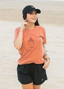 Camiseta Hawewe Positive Mind Terra