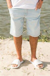 Bermuda Hawewe  Jeans Claro