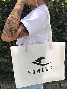 Kit Bolsa Hawewe e Necessarie Silicone Branca