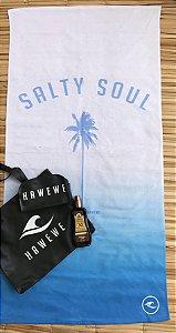 Toalha De Praia Hawewe Salty Soul Degradê