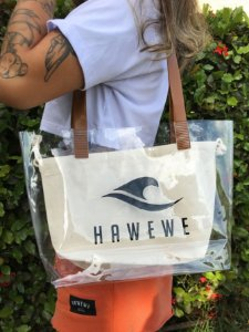 Bolsa Hawewe Bag Cristal Crua
