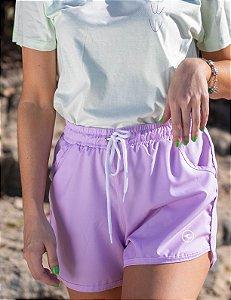 Shorts Hawewe Onda Lilás