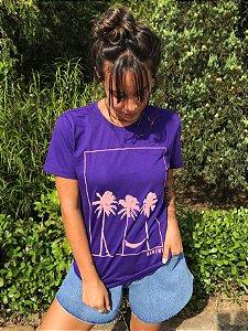 Camiseta Hawewe Summer Vibe Roxa