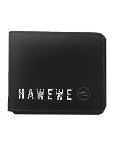 Carteira Hawewe Destroyed Logo Preto