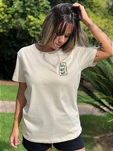 Camiseta Hawewe Feminina Sea Leaf Areia