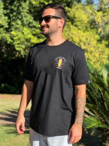Camiseta Hawewe Masculina Music Division Preta