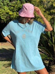 Vestido Hawewe Salty Soul Azul Caribe