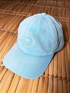 Boné Hawewe Dad Hat Logo Azul Estonado