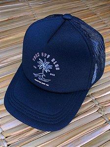 Boné Hawewe Trucker Preto Turn Off Club