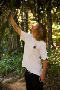 Camiseta Hawewe Masculina Hula Culture Branca