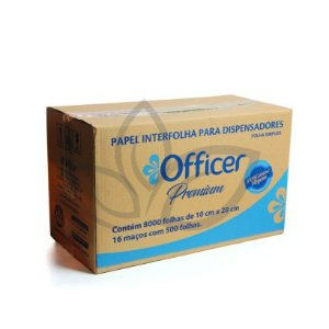 Papel Cai Cai Interfolhas Officer Premium FS Cx c/8000 folhas