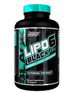 Lipo 6 Black Hers 120 cápsulas