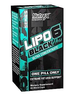 Lipo 6 Black Hers Ultra Concentrado 60 cápsulas