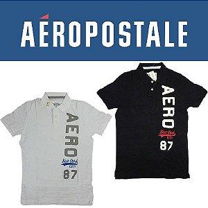 Camisa Aeropostale Gola - tamanho M