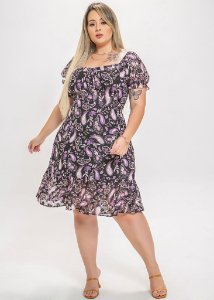Vestido Lorena plus size