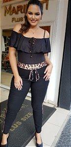 Calça legging bengaline
