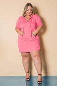 Conjunto de blusa e short saia plus size