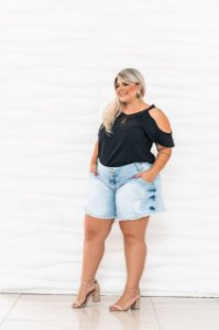 Short godê plus size