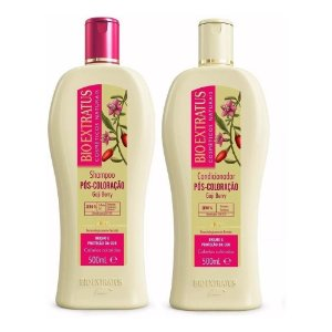 Kit Pós Coloração Bio Extratus 500ml Shampoo + Condicionador