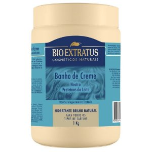 Banho De Creme Neutro Proteínas Do Leite Bio Extratus 1 Kg