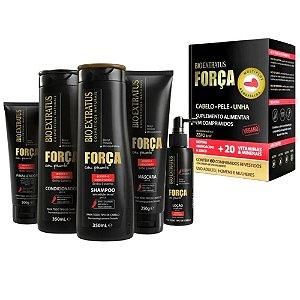 Bio Extratus Força com Pimenta com Suplemento 60 Comprimidos