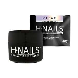 UV/LED GEL PARA UNHAS CLEAR H.NAILS 30G