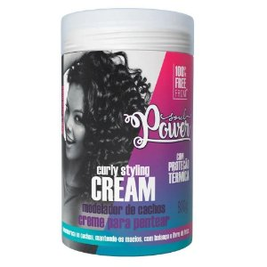 CREME PARA PENTEAR CURLY STYLING CREAM SOUL POWER 800G