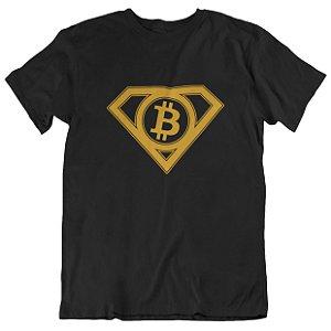 Camiseta Super Bitcoin - Preta