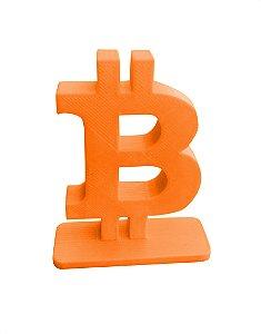 Bitcoin Stand-up - Laranja