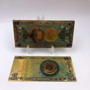 Nota Decorativa Bitcoin