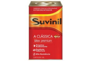 Tinta Látex Clássica Premium Aveludado 18 L Suvinil