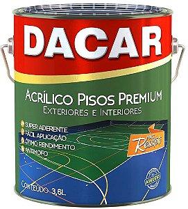 Tinta Acrílica Pisos Premium Fosco 3,6 L Dacar