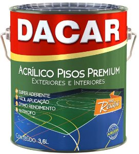Acrílico Pisos Premium Fosco 3,6 L Dacar