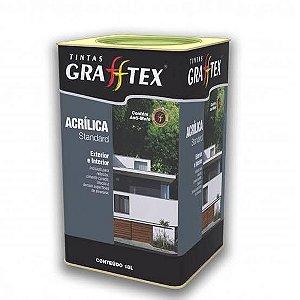 Tinta Acrílica Standard Fosco 18 L Grafftex