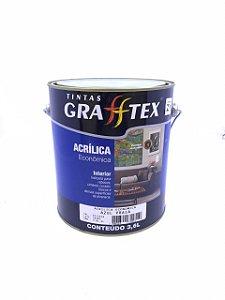 Tinta Acrílica Econômico Fosco 3,6 L Grafftex