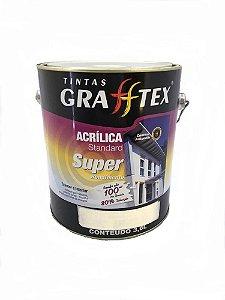 Tinta Acrílica Super Rendimento Standard Fosco 3,6 L Grafftex