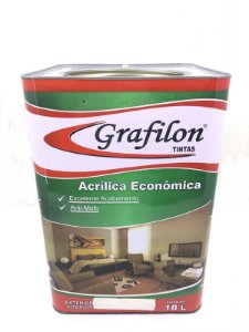 Tinta Acrílica Econômico Fosco 18 L Grafilon