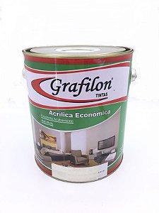 Tinta Acrílica Econômico Fosco 3,6 L Grafilon