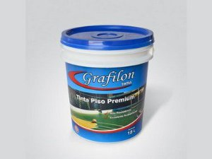 Tinta Acrílica Piso Premium Fosco 18 L Grafilon