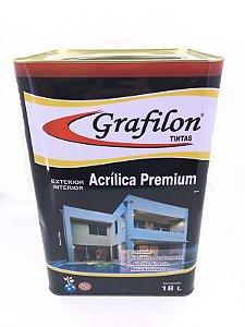 Tinta Acrílica Premium Fosco 18 L Grafilon