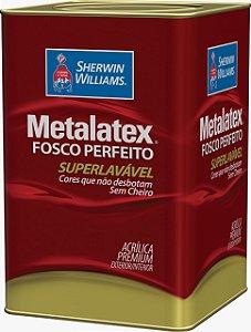 Metalatex Fosco Perfeito Acrílico Premium Lavável 18 L Sherwin Williams