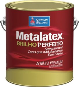 Tinta Metalatex Acrílico Premium Semi Brilho 3,6 L Sherwin Williams