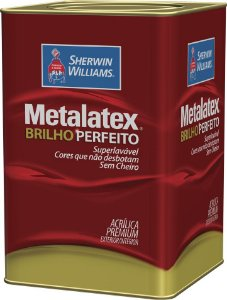 Tinta Metalatex Acrílico Premium Semi Brilho 18 L Sherwin Williams