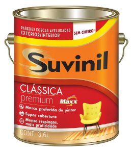 Tinta Látex Aveludado Premium Fosco 3,6 L Suvinil