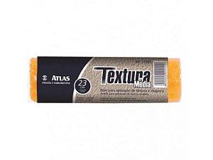 Rolo para Aplicação de Textura Amarelo 23 cm Atlas