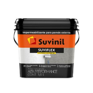 Suviflex Impermeabilizante Flexível e Elástico Branco 3,6 L Suvinil