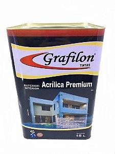 Tinta Acrílica Premium Semi Brilho 18 L Grafilon