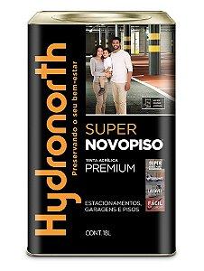 Tinta Acrílica Super Novopiso Premium Semi Brilho com Antiderrapante 18 L Hydronorth