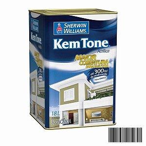 Tinta Acrílica Kem Tone Econômica Fosco 18 L Sherwin Williams
