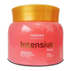 Mac Paul Intensive Mask Máscara de Morango Capilar 240g
